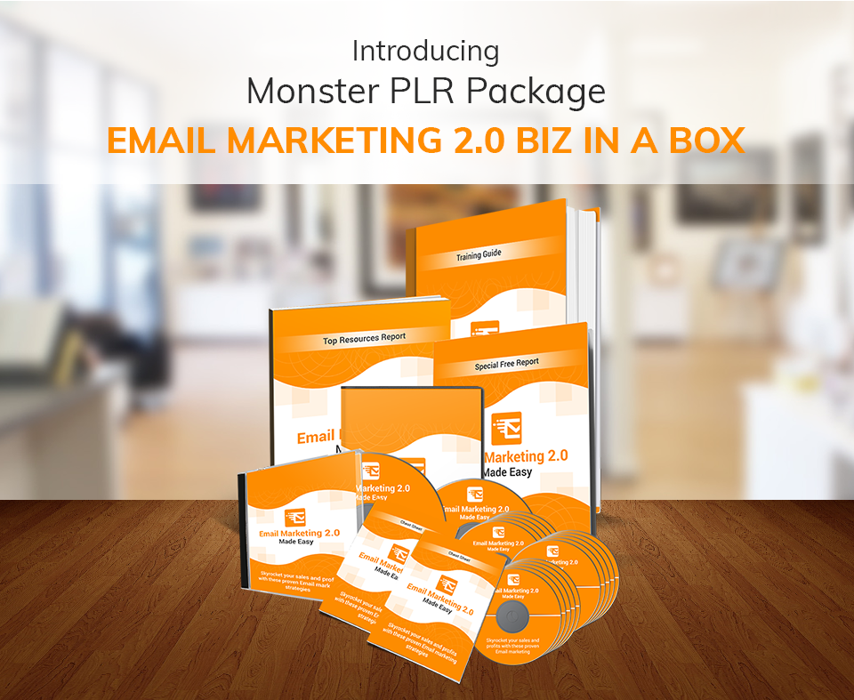 EMAIL MARKETING 2.0 BIZ IN A BOX MONSTER PLR REVIEW